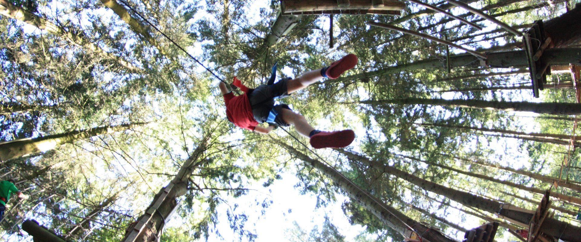 Camping Lac De Savenay : Accrobranche 03