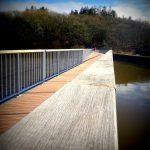 Camping Lac De Savenay : Ponton Flottant Le Long Du Barrage