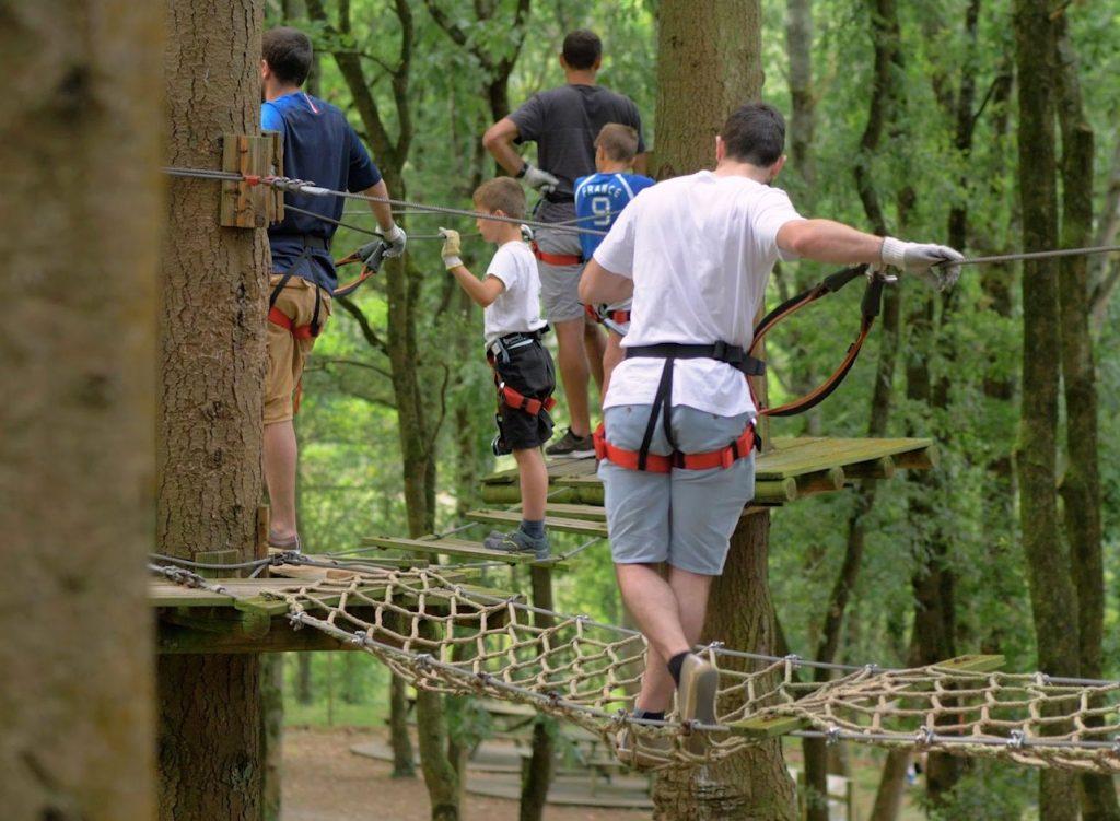 Camping Lac De Savenay : Tépacap! Accrobranche 1