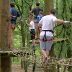 Lac de Savenay Campsite: Tépacap! fun park Accrobranche 1