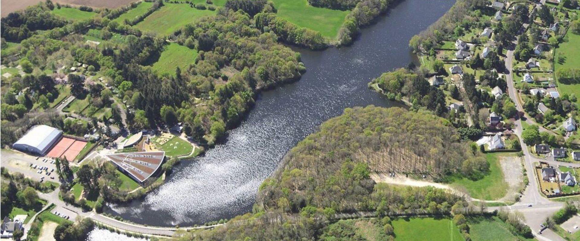 Camping Lac De Savenay : Le Lac De La Vallée Mabile Et Son Barrage. Ouest France