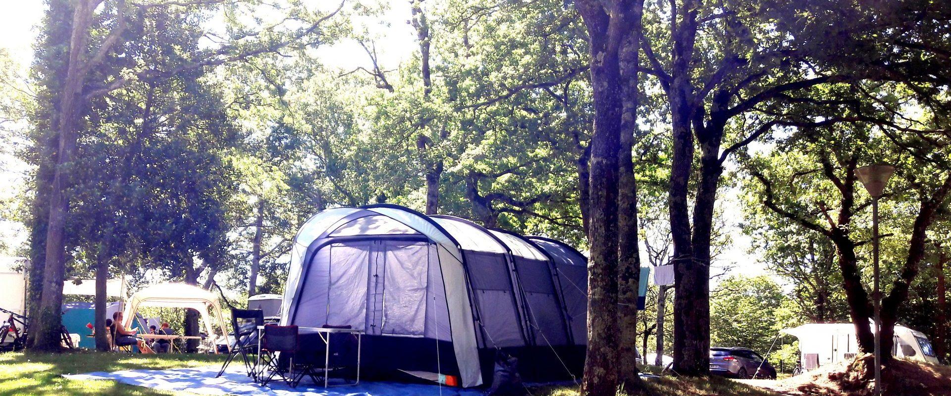 Camping Lac De Savenay : Page Emplacement Bandeau